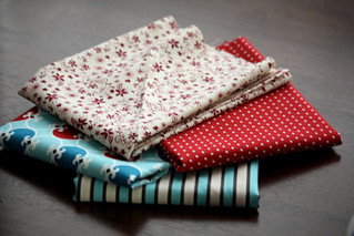 Fabric for Bunting | by niftyfoodie