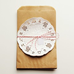 Kraft Bags and Doilies - Packaging | by packagery
