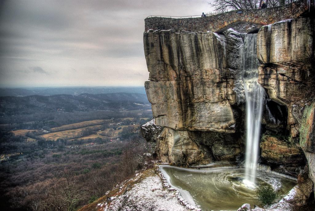 High Falls, Rock City, Lookout Mountain, GA
