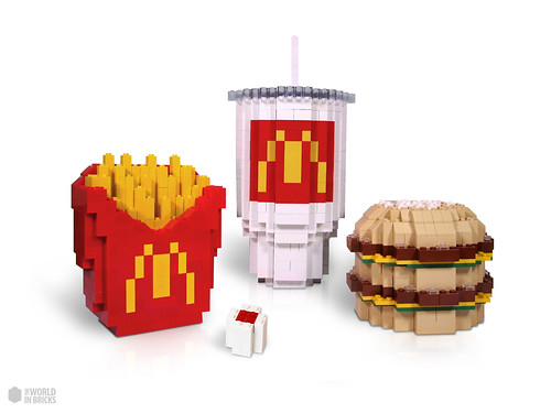 LEGO Big Mac Meal - TheWorldinBricks.Com | by theworldinbricks