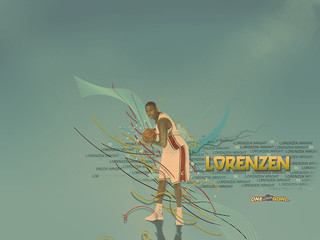 2008-2009 Wallpaper Lorenzen Wright | by Cavs History
