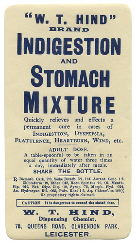 Indigestion and Stomach Mixture | by alistairh
