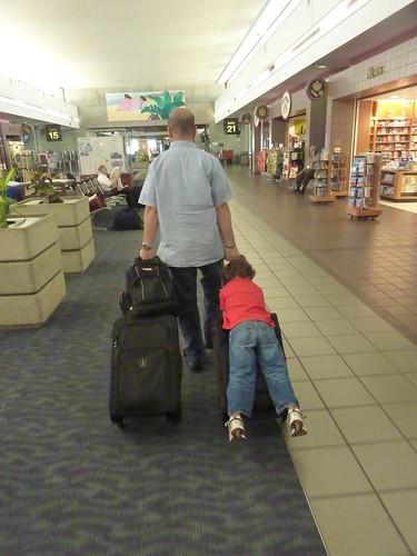 Kid on a bag