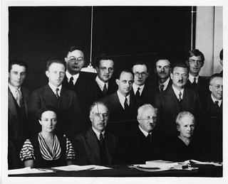 Physicists at the Seventh Solvay Physics Conference, Brussels, Belgium, October 1933 | by Smithsonian Institution