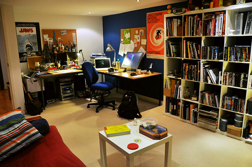 my workspace at home... | by Reza Dolatabadi
