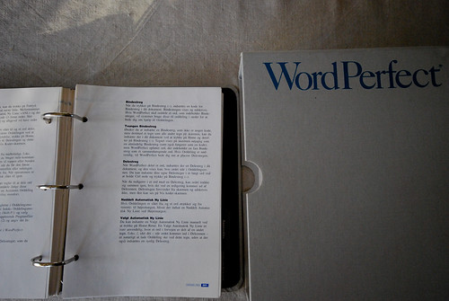 WordPerfect - the manual | by emme-dk