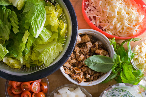 California Pizza Kitchen BBQ Chopped Chicken Salad | by The Domestic Front