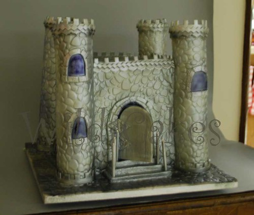 castle1 wedding cake | by Wild Cakes