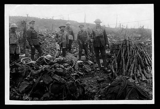 Salvage of the battlefield near Bapaume | by National Library of Scotland