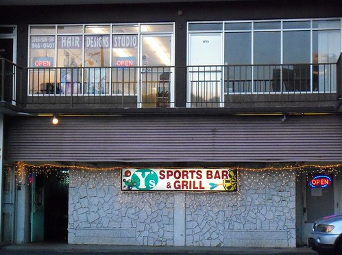 Y s sports bar and grill hair designs studio on the sec