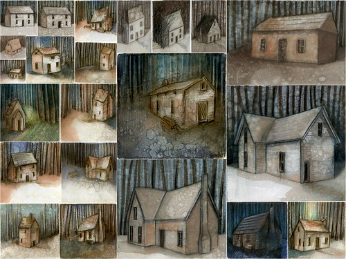 Woodcutter's cottage - concept drawings | by kimprint