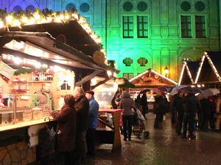 Christmas market in the Residenz in Munich | by heatheronhertravels