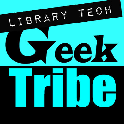 Library_Tech_Geek_Tribe_BLUE_400Sq | by The Daring Librarian