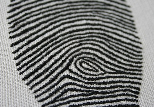 Fingerprint close up | by Mrs Gibson's Atelier