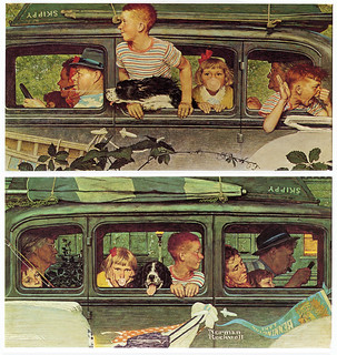1947- Going and Coming - by Norman Rockwell | by x-ray delta one