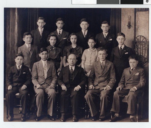 Graduating class of the St. Paul Talmud Torah | by Jewish Historical Society of the Upper Midwest