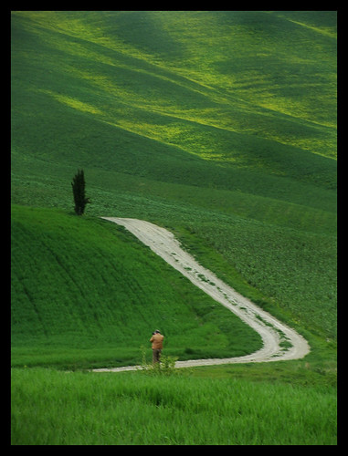 Tuscany, Green Orcia Valley - Star | by george mathieu