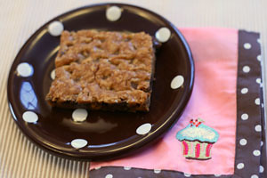 Butterscotch Chocolate Cookie Bars | by Sarah :: Sarah's Cucina Bella