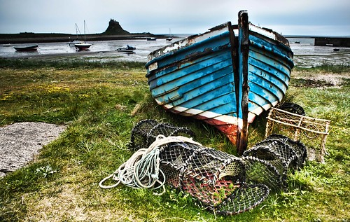 holy island boat | by Chris Tait
