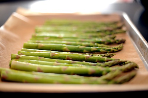 asparagus, ready for roasting | by sassyradish