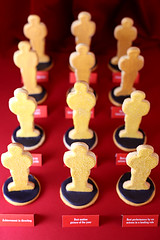 Movie Award Cookies | by Bakerella
