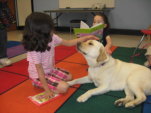 Read to a Dog, April 2010