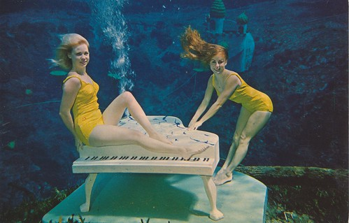Two Lovely Mermaids - Weeki Wachee, Florida | by The Cardboard America Archives