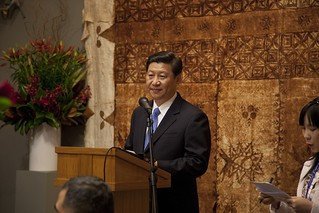 Vice President Xi Jinping | by nznationalparty