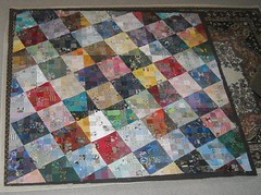 watercolor quilt front | by vickivictoria