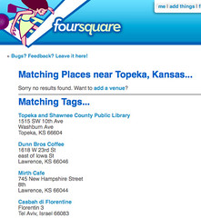 wifi tag in foursquare | by David Lee King