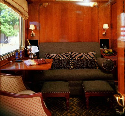 Blue Train (South Africa) - De luxe cabin | by Train Chartering & Private Rail Cars