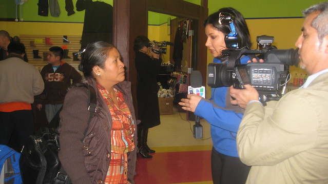 PCUN Activist reactions with Univision KUNP-TV
