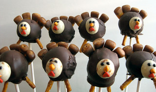 Turkey Cake Pops | by niftyfoodie