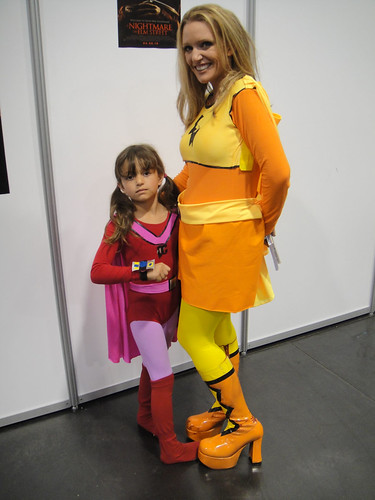 Electra Woman and Dyna Girl | by Doug Kline