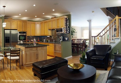 Gourmet Kitchen Counter Designs With Assessories