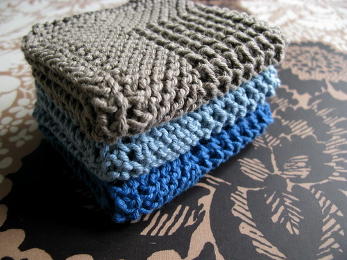 Knitting Pattern Dishcloth Knitted Diagonal : Diagonal Knit Dishcloth Flickr - Photo Sharing!