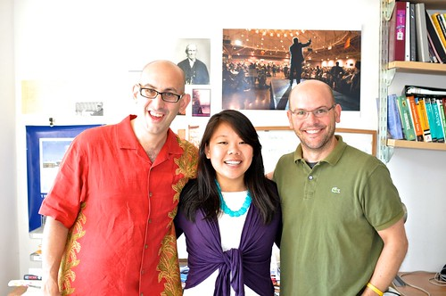 Geoff Livingston, May Yu and Dan Morrison | by Geoff Livingston