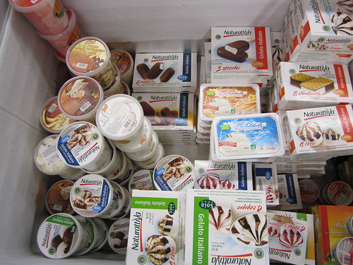 Vegan Ice Cream Selection at NaturaSi | by veganbackpacker