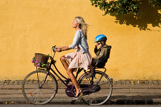Copenhagen Bicycle Against Yellow Wall 11 | by Mikael Colville-Andersen