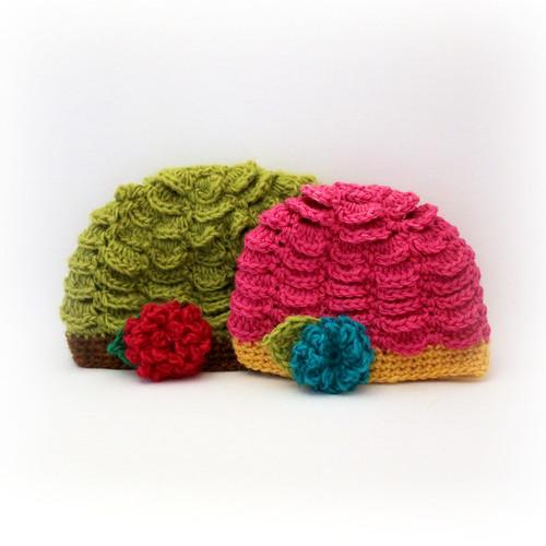 Vintage inspired scalloped hat tara flickr for Fave crafts knitting patterns