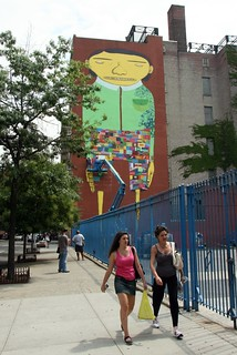 Os Gemeos and Futura in progress | by carnagenyc