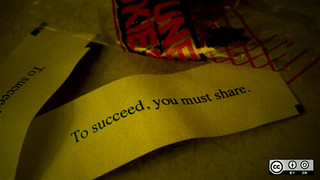 Fortune cookie says: To succeed, you must share. | by opensourceway