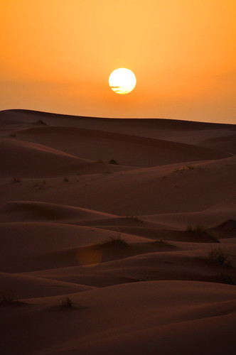 Sunset at Erg Chebbi Desert, Morocco | by (c) Orion Photography