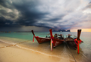 Storm over Phi Phi | by alex saberi