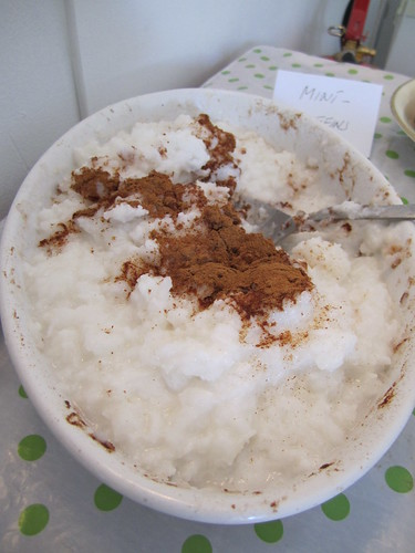 Coconut Rice with Cinnamon | by veganbackpacker