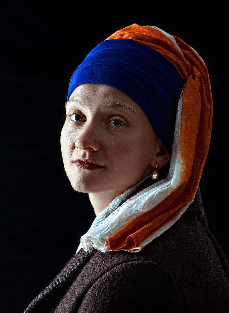 Olga with Pearl Earring