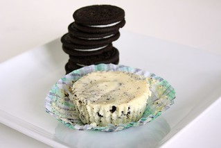Cookies & Cream Cheesecakes | by Tracey's Culinary Adventures