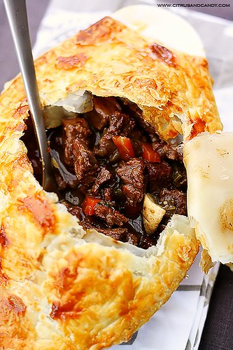 Beef and Red Wine Pot Pie with Braised Cabbage | www ...