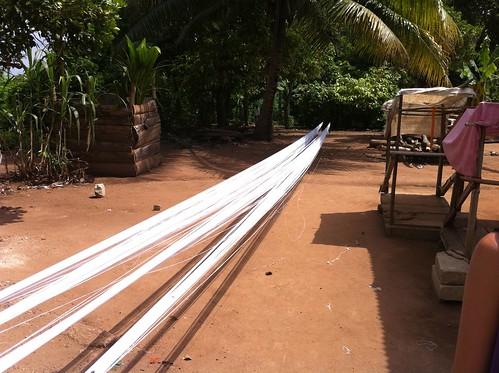 Adanwomase Kente village