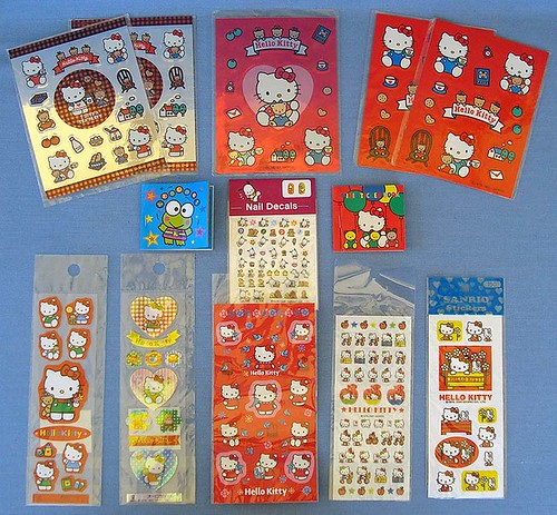 Sanrio Hello Kitty Stickers | by Justlookinaround4now